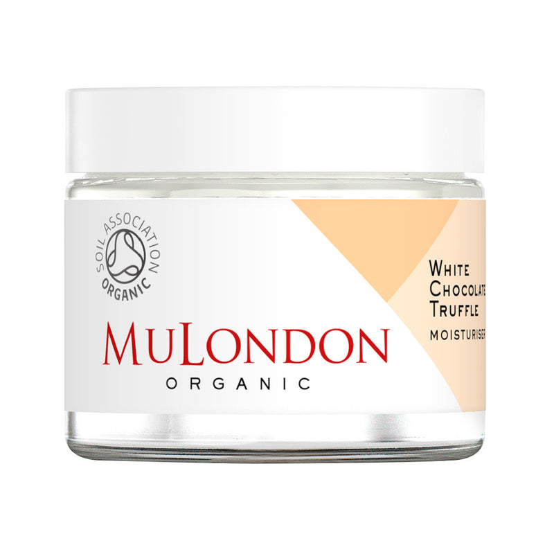 MuLondon Organic White Chocolate Truffle Moisturiser 60ml