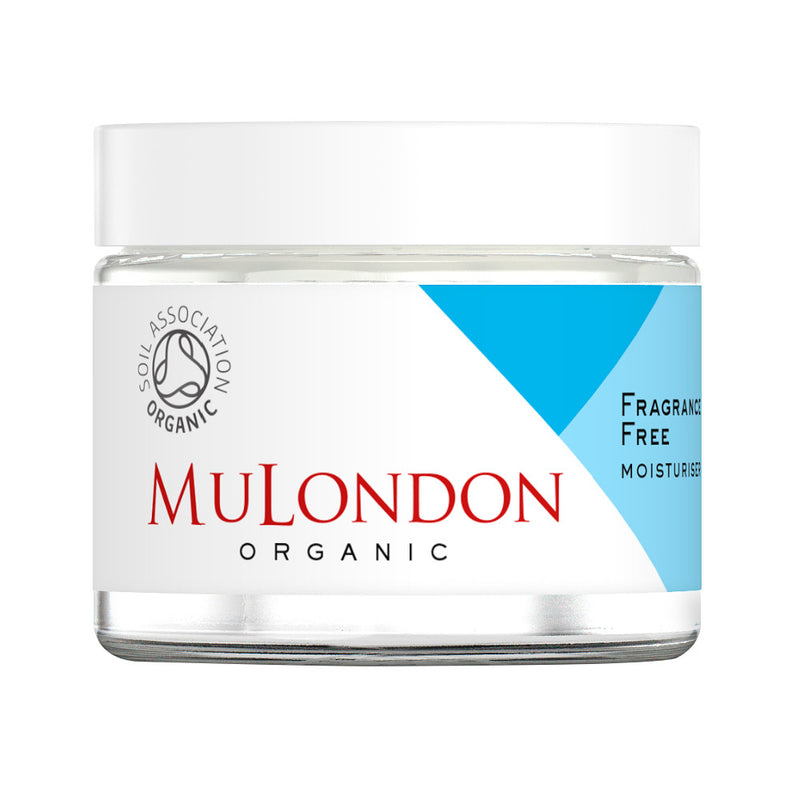 MuLondon Organic Fragrance Free Moisturiser 60ml