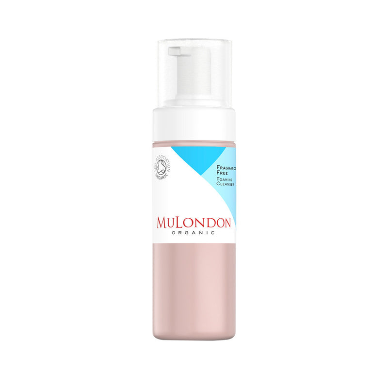 MuLondon Organic Fragrance Free Foaming Cleanser 150ml