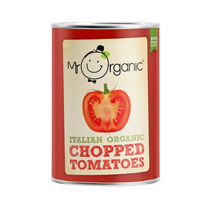 Mr Organic OG Chopped Tomatoes 400g