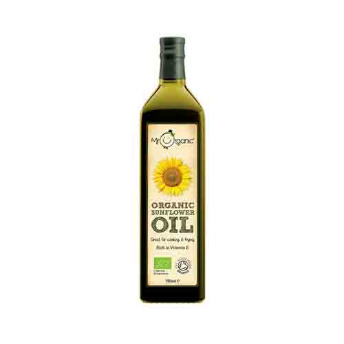 Mr Organic Sunflower Oil (Cold-Pressed) 750ml