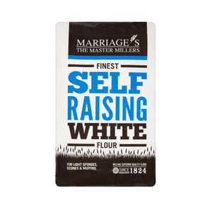 Marriage's Organic Self Raising White Flour 1kg