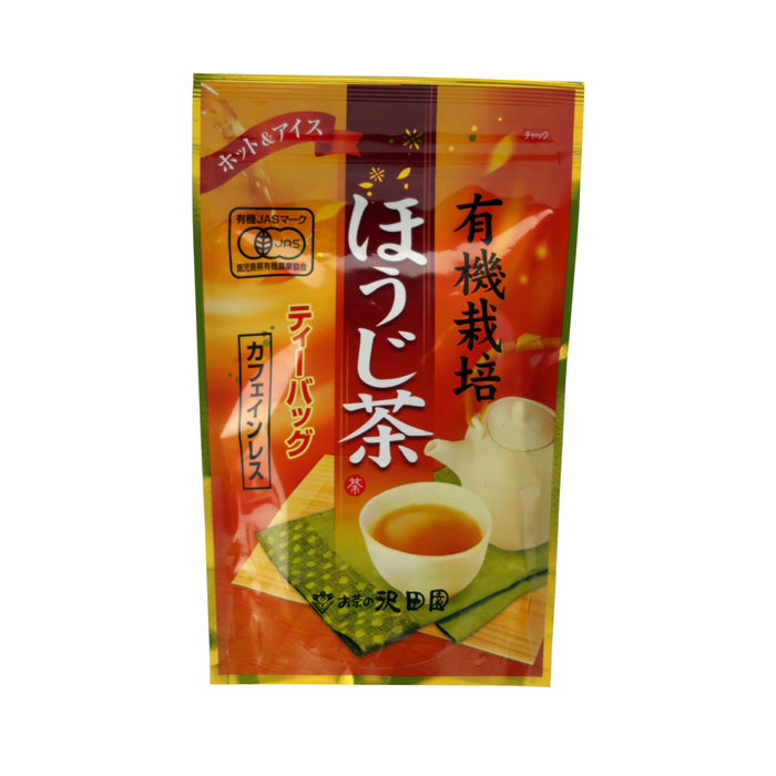 Sawadaen Organic (Houjicha) Roasted Green Tea Bag 60g (3gx20)