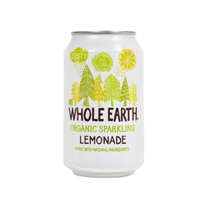 Whole Earth Sparkling Organic Lemonade Drink (Can) 330ml