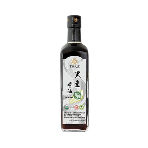 Organic Black Bean Soy Sauce 500ml
