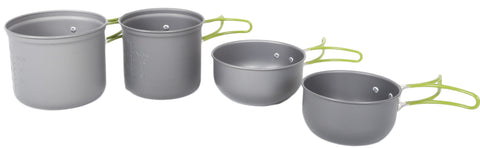 PATHFINDER 4 PIECE Aluminium Kitchenware Set
