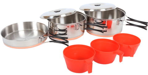 PATHFINDER 8 PIECE STAINLESS STEEL Kitchenware Set