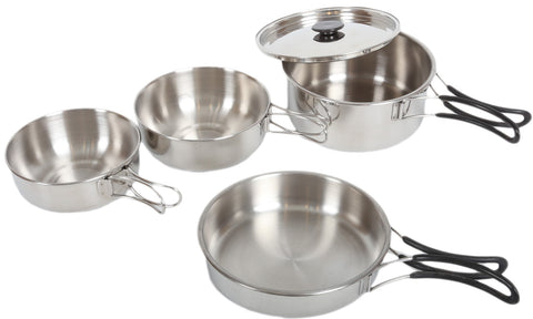 PATHFINDER 5 PIECE STAINLESS STEEL Kitchenware Set
