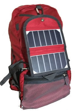 ECEEN SOLAR CHARGER FOLDING Backpack. 30 Litre
