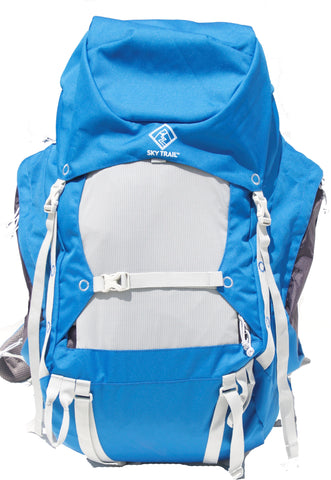 SKYTRAIL DELTA Rucksack With Rain Cover.  65 LITRE