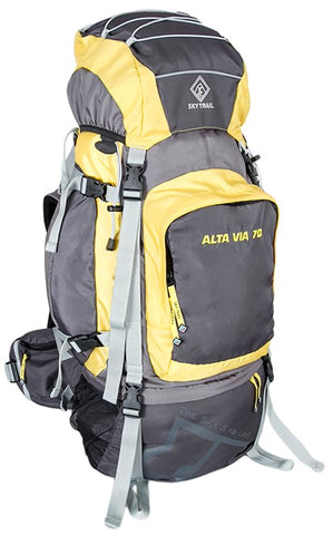 SKYTRAIL ALTA VIA Rucksack With Rain Cover.  70 LITRE