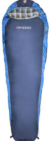 COMPASS Deluxe Sleeping Bag.  Jumbo Size