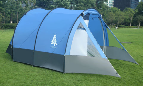 CASTAWAY PEAK. 5-7 MAN RIGID FRAME FAMILY TENT