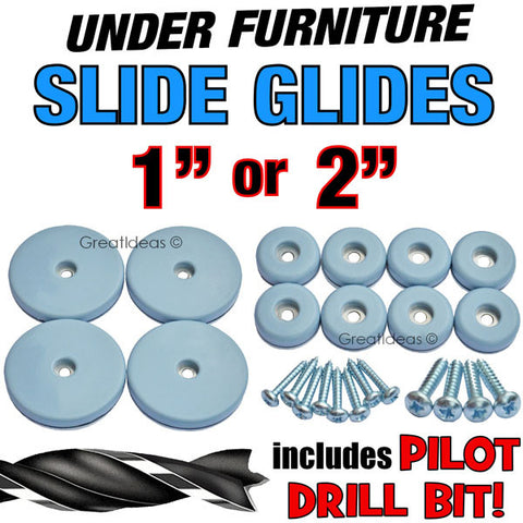 Slide Glides - Move Furniture and Appliances With Ease