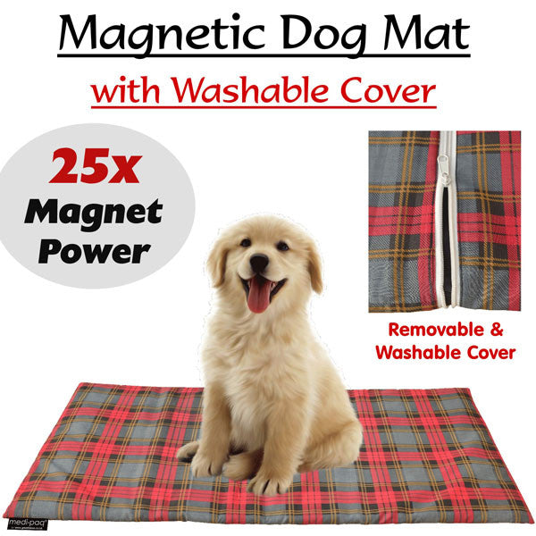 Magnetic Pet Therapy Pad  Magnetic Therapy is a safe and simple way to improve the health of your pet. Magnets increase the circulation and encourage the blood to carry more oxygen.