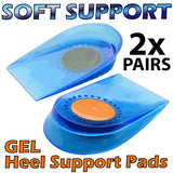 DELUXE Dual Density Gel ARCH SUPORT Full-Length Insoles - (2x Pairs) Relieve Foot, Leg and Back Ache Now!