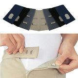 Trouser Skirt Jeans Hook WAIST EXTENDERS x3 - Do NOT throw away your favourite skirt or pair of trousers/jeans!