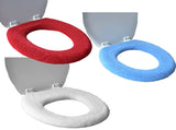 Toilet Seat Cover with Super Warm Fleece - The great way to stay warm and comfortable all year round - not just for winter!