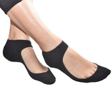 Low-Cut-Shoe-Liners-with-Comfort-Silicon-gel-Heel-Grip-ballet-pumps-