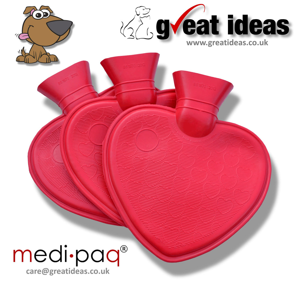 Pet Heart Shaped Water Bottles
