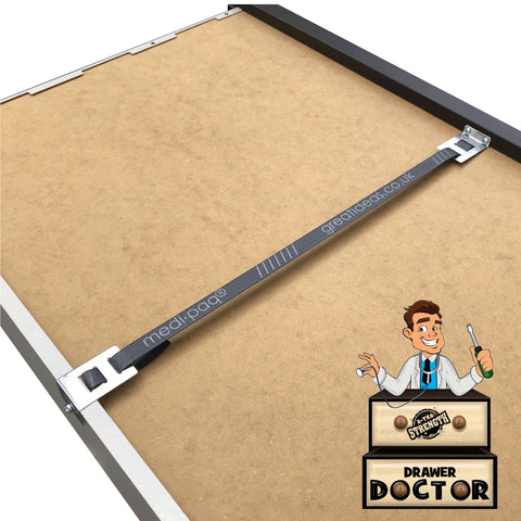 Drawer Doctor - Fix Broken Buckled Drawers In Minutes - 15mm 250kgs Heavy Duty Version