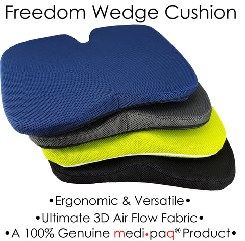 Medipaq® Freedom Cushion - Premium Support with Coccyx Cut-Out in 3D Breathable Mesh