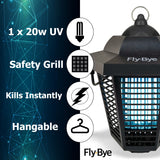 Medipaq Indoor and Outdoor Mosquito Fly Bug Zapper Electronic Insect Killer, 6-Sided 360-Degree Attraction