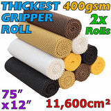 Non-Slip Gripper Roll - STOP the dangerous & unsightly crawling of mats and rugs on many types of flooring. Can be easily cut into smaller pieces for placing under 100's of household items. Make excellent non-slip drawer liners and for placing under tablecloths, place mats, trays, coasters or on the dashboard in your car to stop mobile phone, glasses, keys etc safely in place.