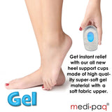 Soft Gel Heel Cup Supports