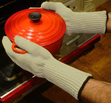 Long Wrist-Protection Heat Proof Gloves - PAIR - 33cm in Length