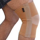 Knee Support Brace - Enclosed Flexible Steel Springs