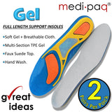 DELUXE Dual Density Gel ARCH SUPORT