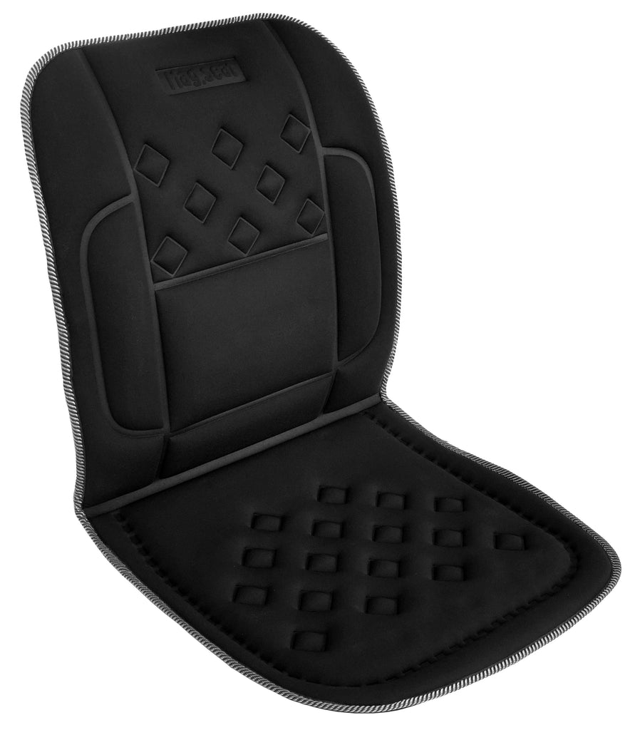 Car Seat SUPPORT Cushion - 24 Air-Flow Pockets - 8 Magnets + BACK and SIDE Supports!