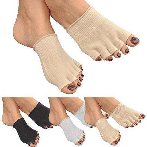 Gel Lined Toe Socks  Get instant relief with our all new gel lined toe protective socks.