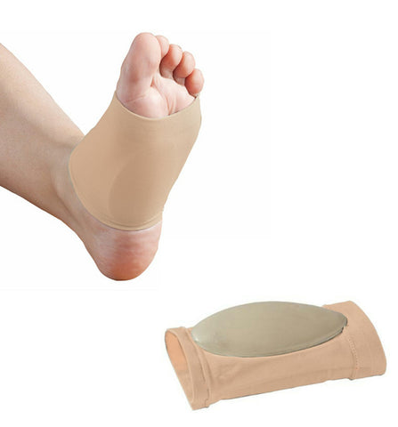 Plantar Fasciitis Arch Sleeve - Proven to reduce pain from plantar fasciitis, tendonitis, heel spurs, cuboid syndrome and heel neuromas.
