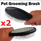 Pet Grooming Brushes x2