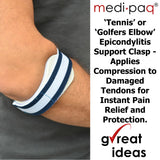 Medipaq - TENNIS ELBOW CLASP SUPPORT