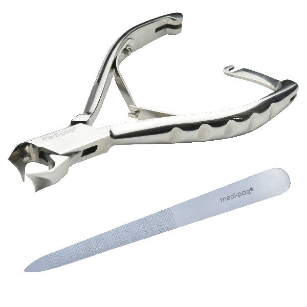 Medipaq - Professional Ingrowing Toenail Cutters PLUS Nail File