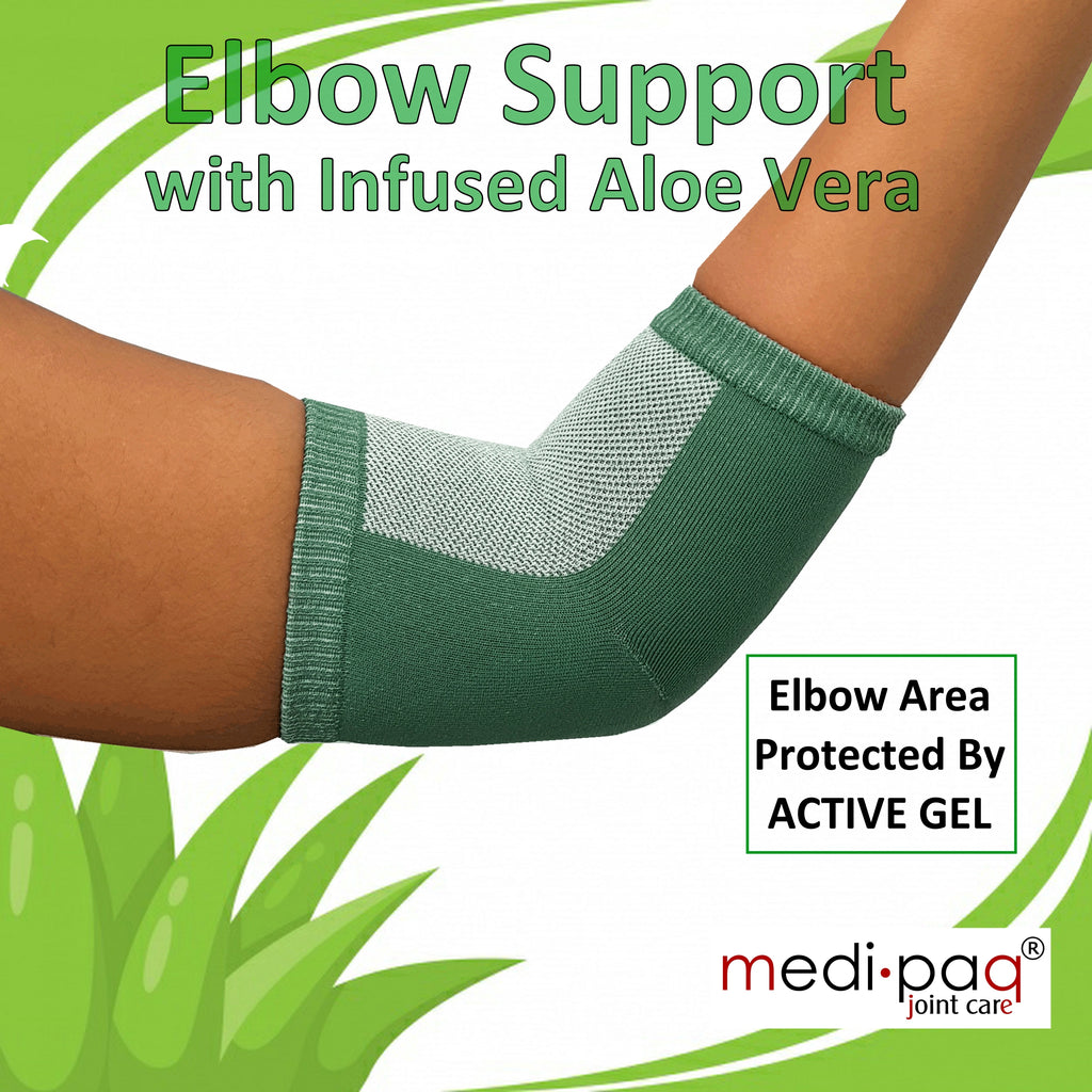 Medipaq® Elbow Protection Support with Embedded Aloe Vera
