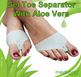 Medipaq® Gel Toe Separator with Embedded Aloe Vera (1x Pair)