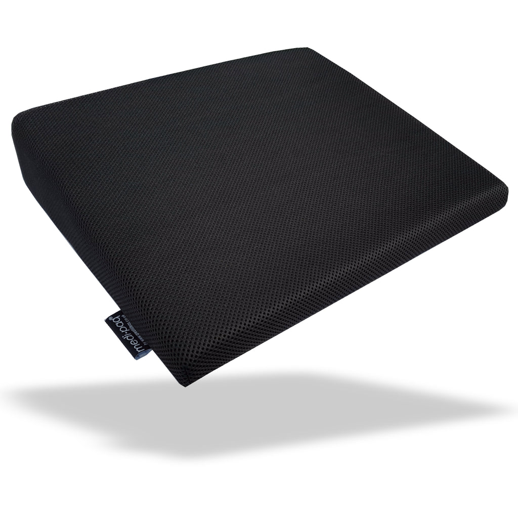 Gamer's Seat Pad - Cushion Wedge Non-Slip - For Full Support & Relief from Fatigue