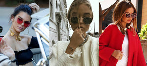 How to wear jewelry with sunglasses