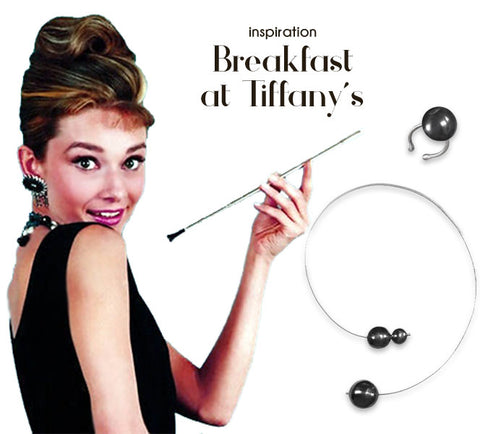 Breakfast at Tiffany's inspired jewelry | blingtalks