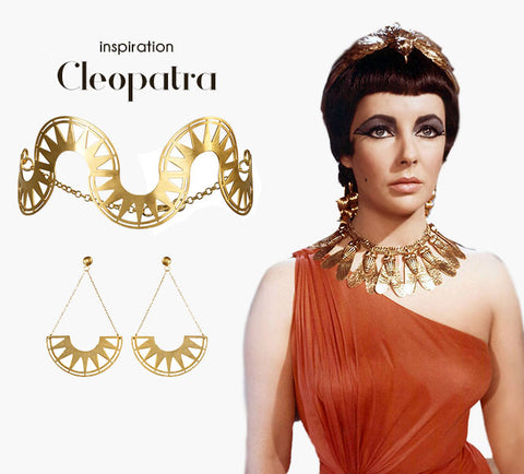 Cleopatra inspired jewelry | blingtalks