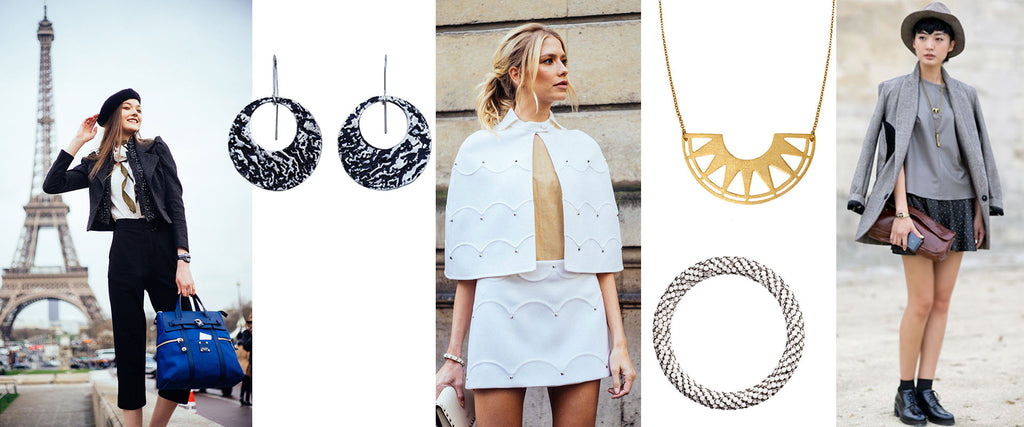 How to wear jewelry like a Parisian | blingsense