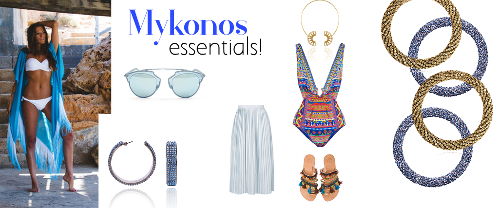 Mykonos essentials | blingtalks