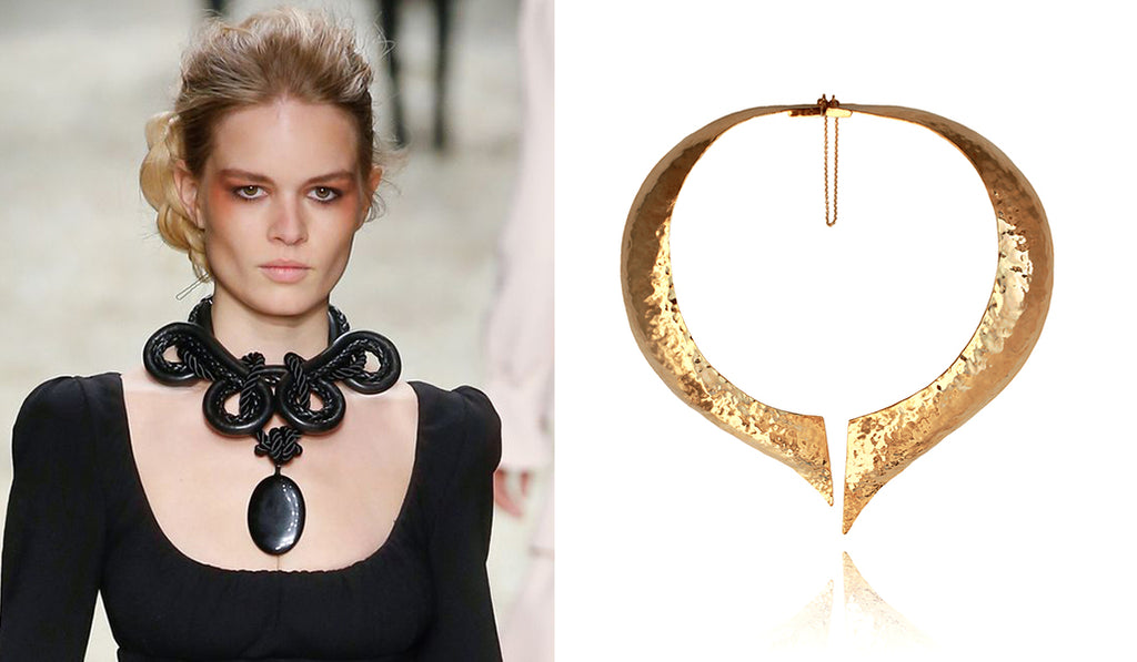 Statement oversized necklaces | blingsense
