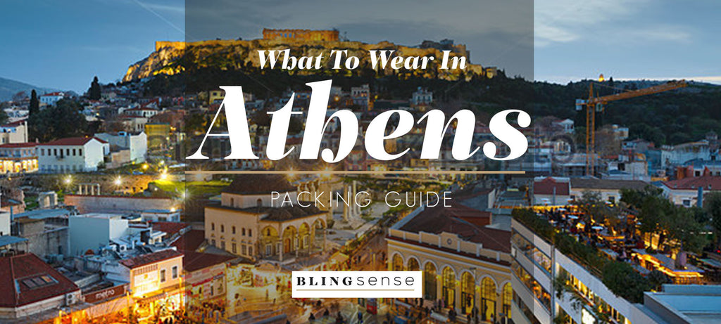 How to wear jewelry in Athens | blingsense