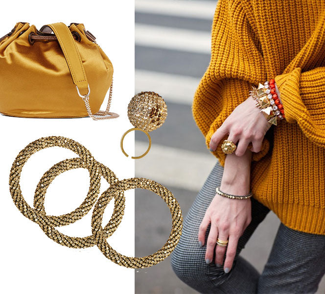 How to wear jewelry when wearing colourful clothes | blingsense