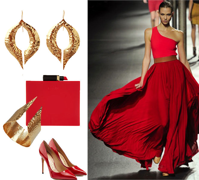 How to wear jewelry with colourful cclothes | blingsense